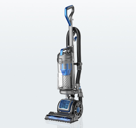 Upright vacuum cleaners can be bagged or bagless