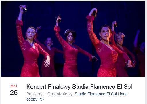 Koncert Finałowy Studia Flamenco