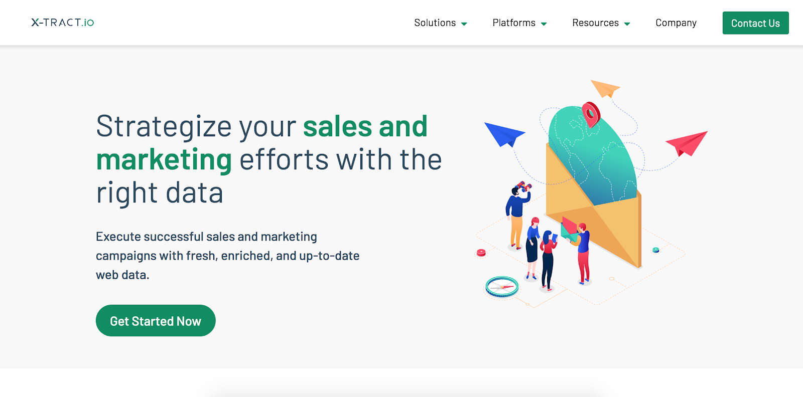 x-tract.io is the seventeenth Best B2B Lead Generation Tool example | The article is 21 of the Best B2B Lead Generation Tools for 2020