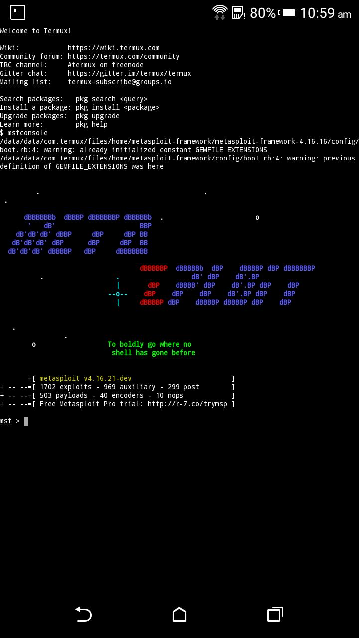 Attacking Windows Platform with EternalBlue Exploit via Android
