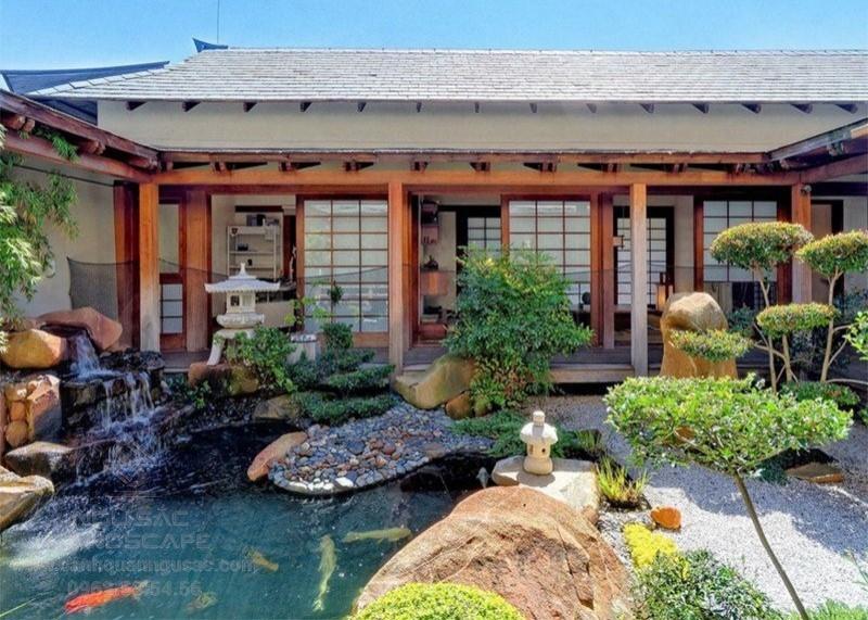 Nhà vườn phong cách Nhật Bản