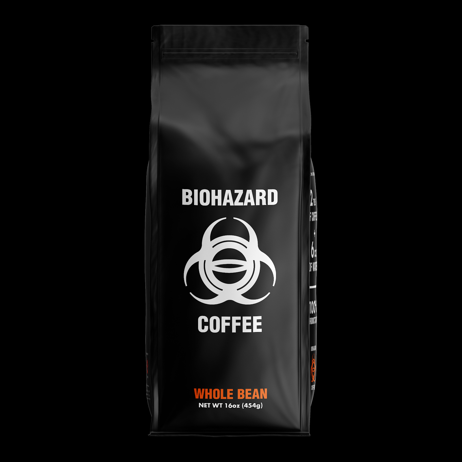 Biohazard Coffee World's Strongest Coffee 1lb whole bean bag World's Strongest Store Bought Coffee Brands