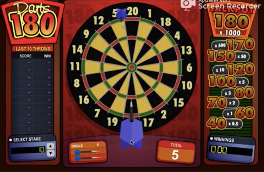 darts180