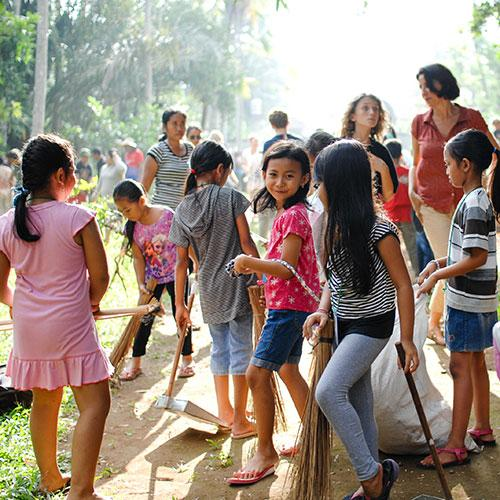 Hasil gambar untuk balinese children school