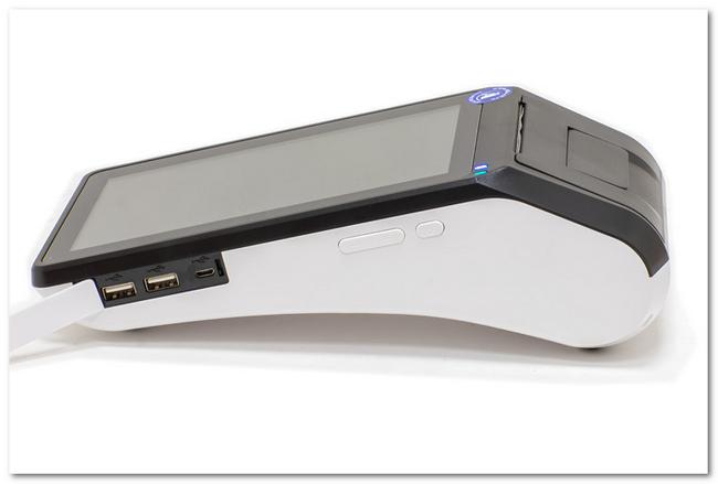 Стационарная ДелоКасса 7 с тремя USB-разъёмами