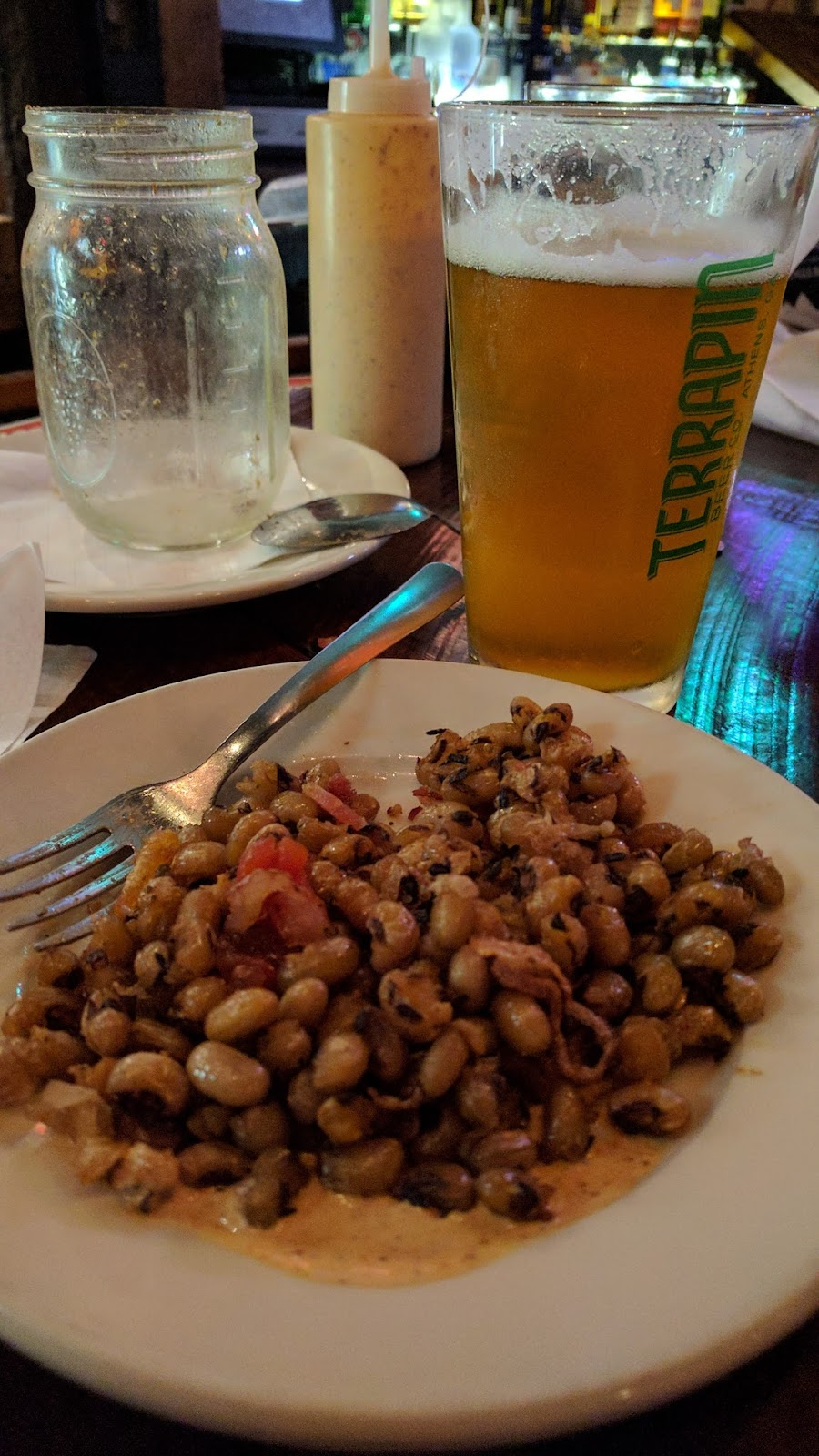 Fried Black-eyed Peas at Blue Canoe in Tupelo, MS