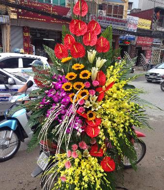 Đặt mua hoa tại shop hoa online giúp bạn tiết kiệm thời gian di chuyển tới cửa hàng