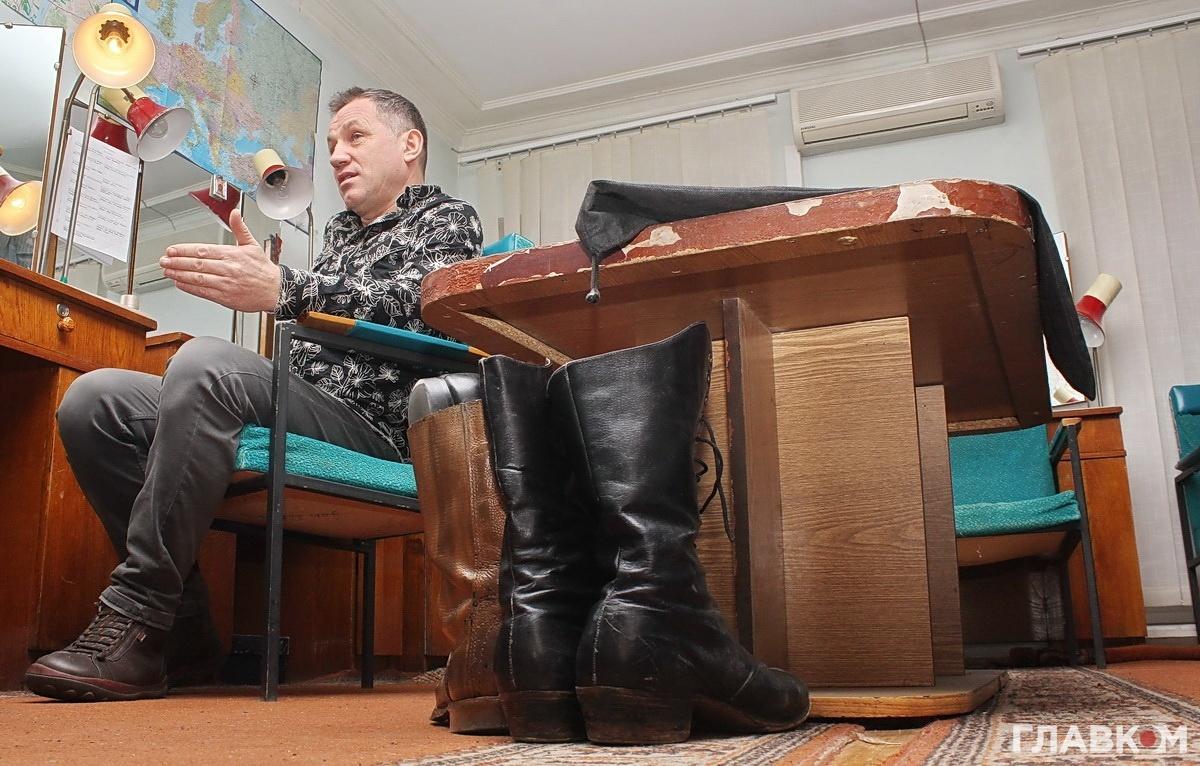 Народний артист Анатолій Гнатюк
