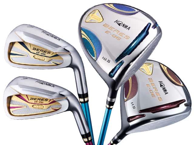 Gậy Golf HONMA BERES E có Shaft gậy xanh và hồng