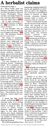 A Herbalist (Dr  Sebi) who claims to cure AIDS is nabbed  He calls