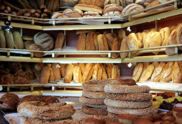 Greeks, absolutely adore bread - their dear psomaki!