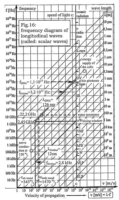 velocidad de propagacion de distintas ondas