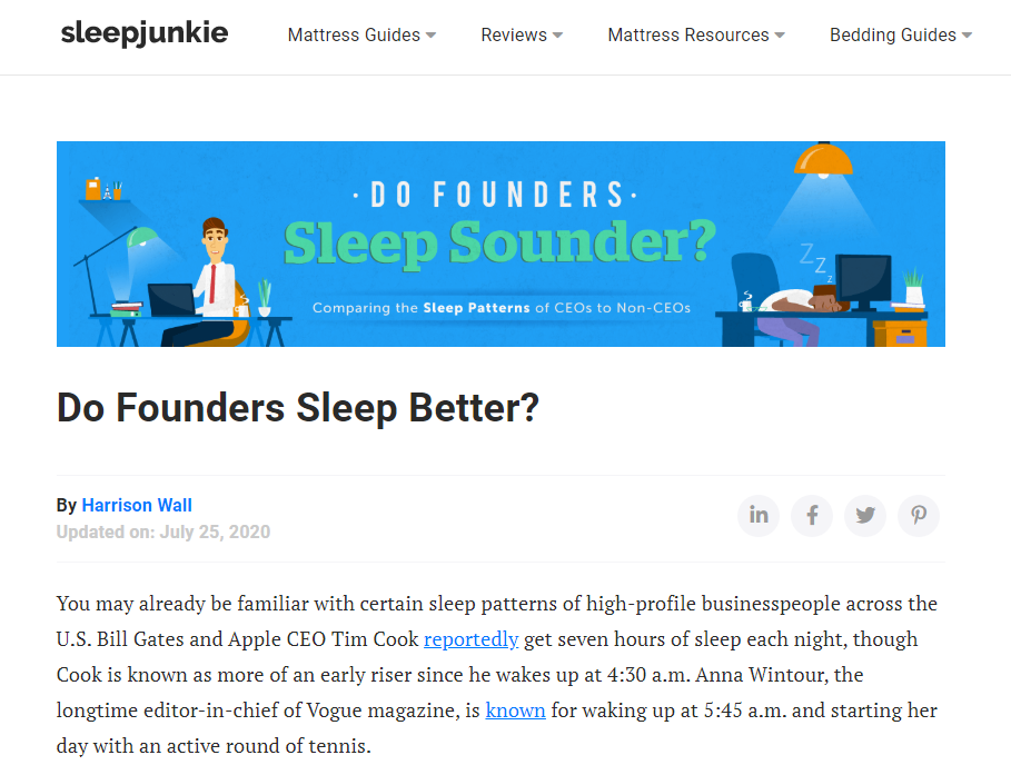 Sleepjunkie screenshot