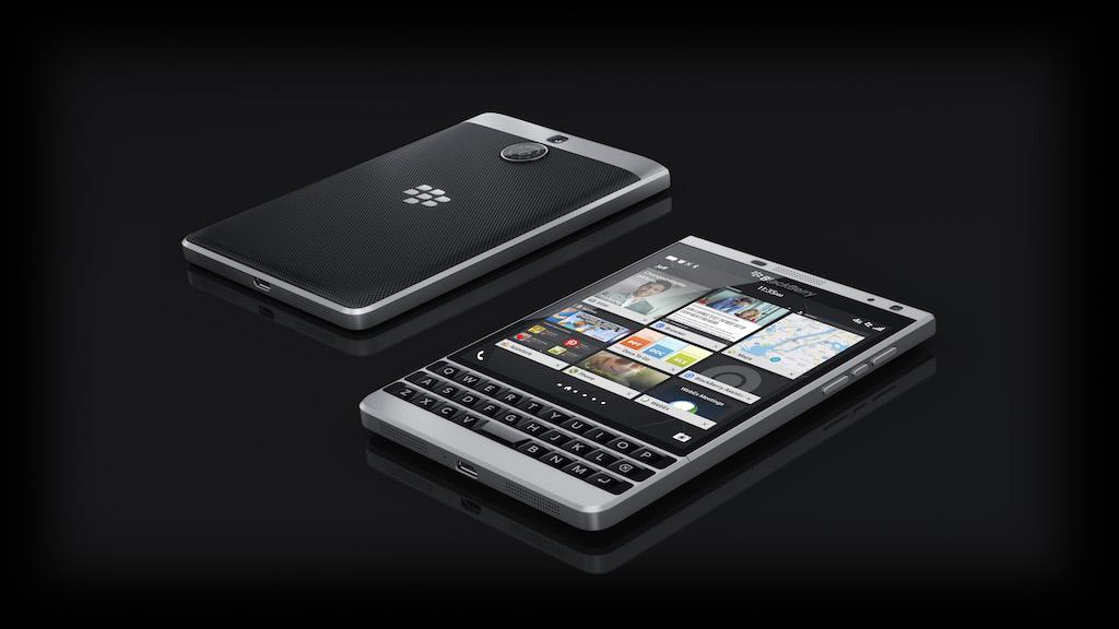 Dien thoai BlackBerry Passport Silver Edition