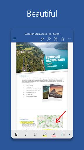 Microsoft Word- screenshot thumbnail