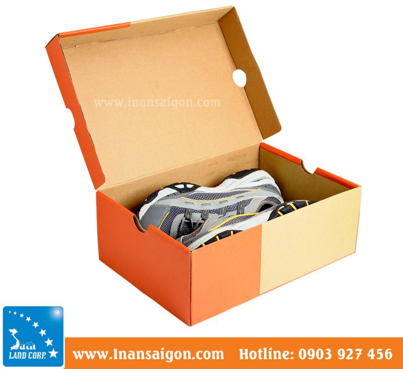 Mua bán hộp carton đựng giày tphcm