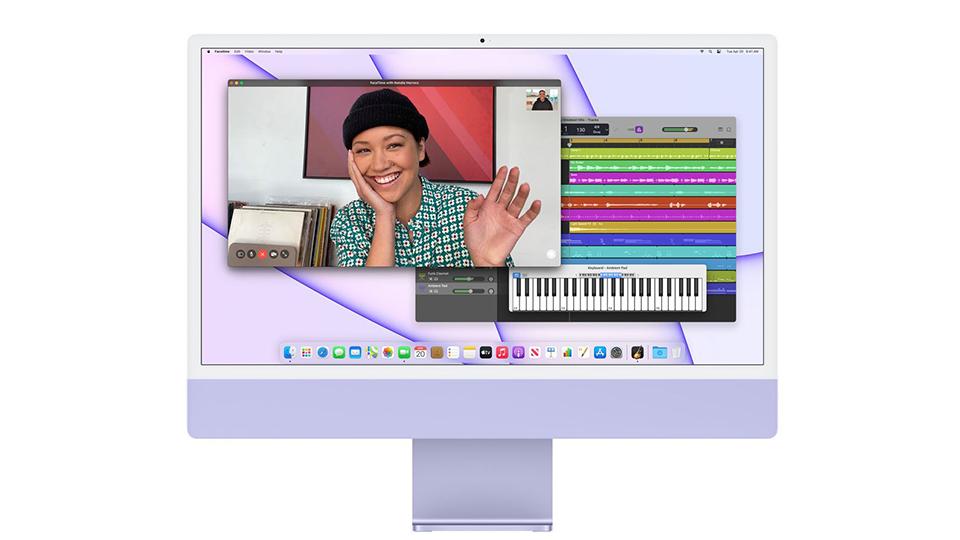 micro iMac M1 2021 24 inch Retina 4.5K