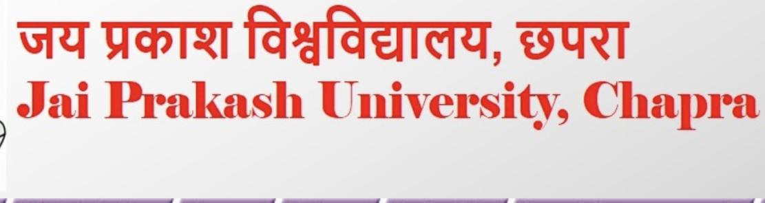 Jai Prakash Vishwavidyalaya Result
