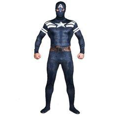 Hot Halloween Costumes Captain America Cosplay Zentai & Catsuit Costumes Unisex Lycra Breathable Material Zentai Fancy Costume From Jessiebee, $40.94 | Dhgate.Com