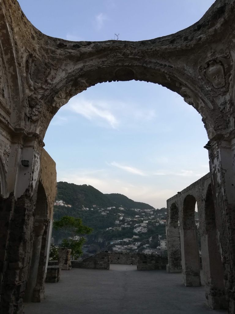 Castello Aragonese, one of the reasons why in Ischia you can live a real Italian experience.