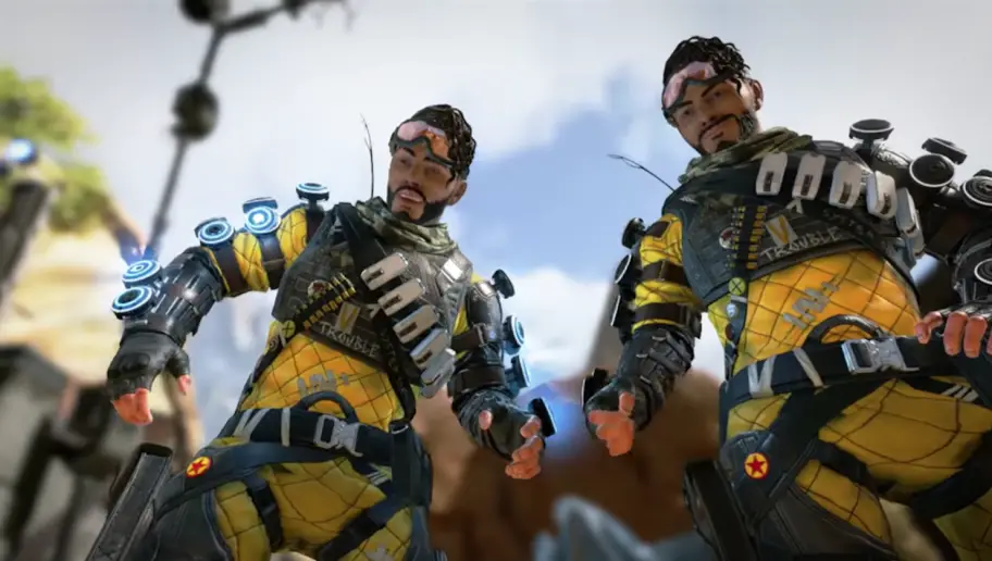 Mirage Apex legends with a clone