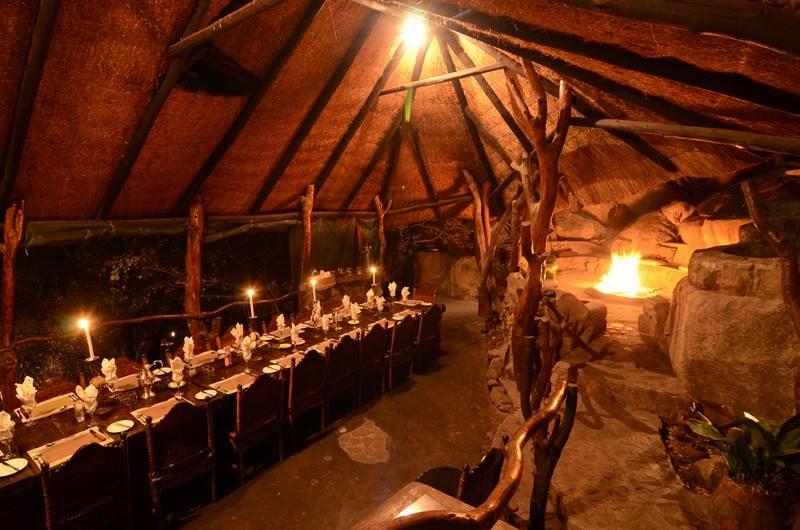 Amalinda dining area