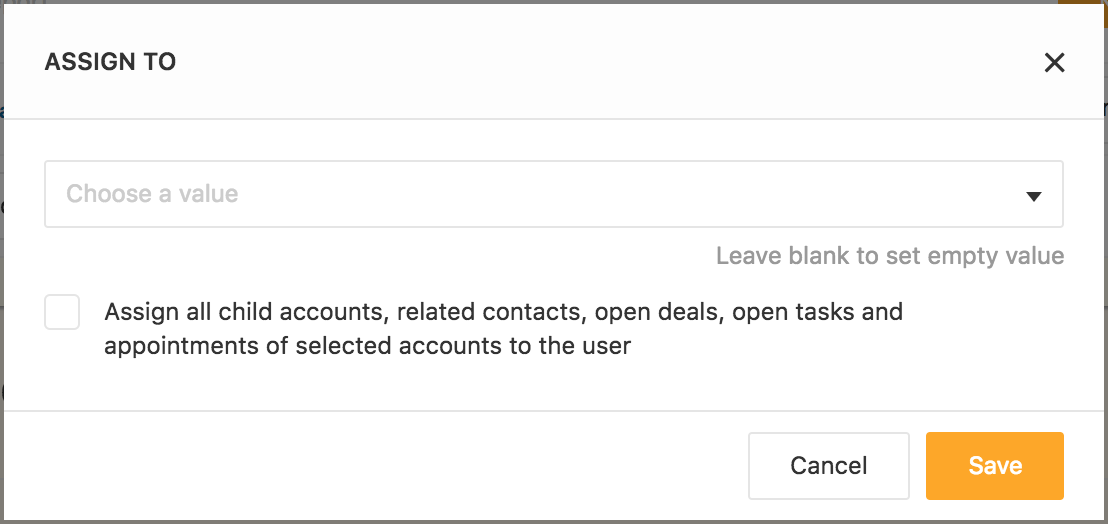 How to assign accounts to users : Freshsales