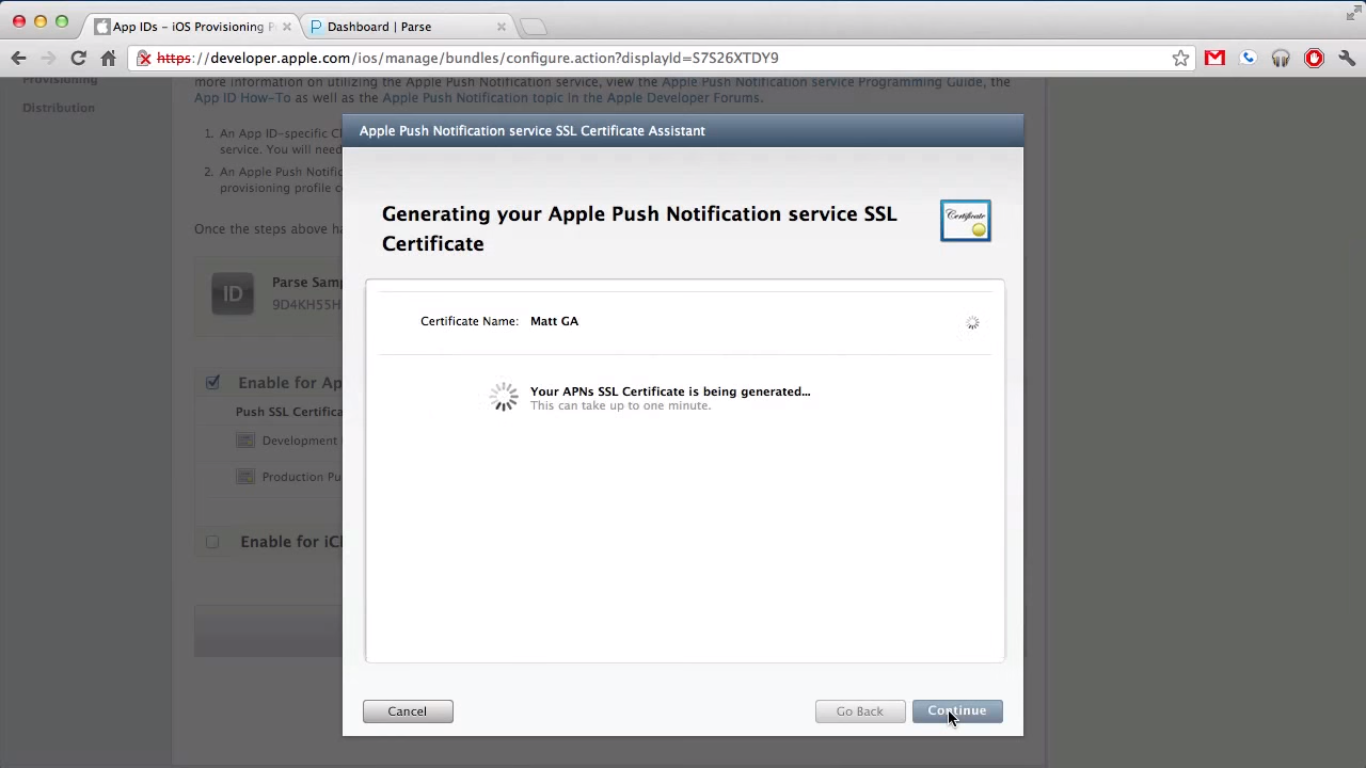 How can i implement push notifications on my ios app back4app double click on the ssl certificate to install it you will find this in your certificates list you can right click on the apple ssl certificate and save xflitez Image collections