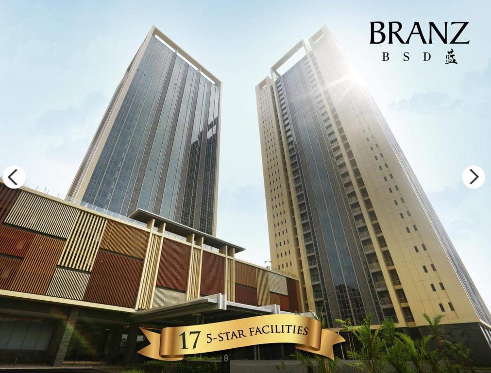 Branz BSD Apartment view