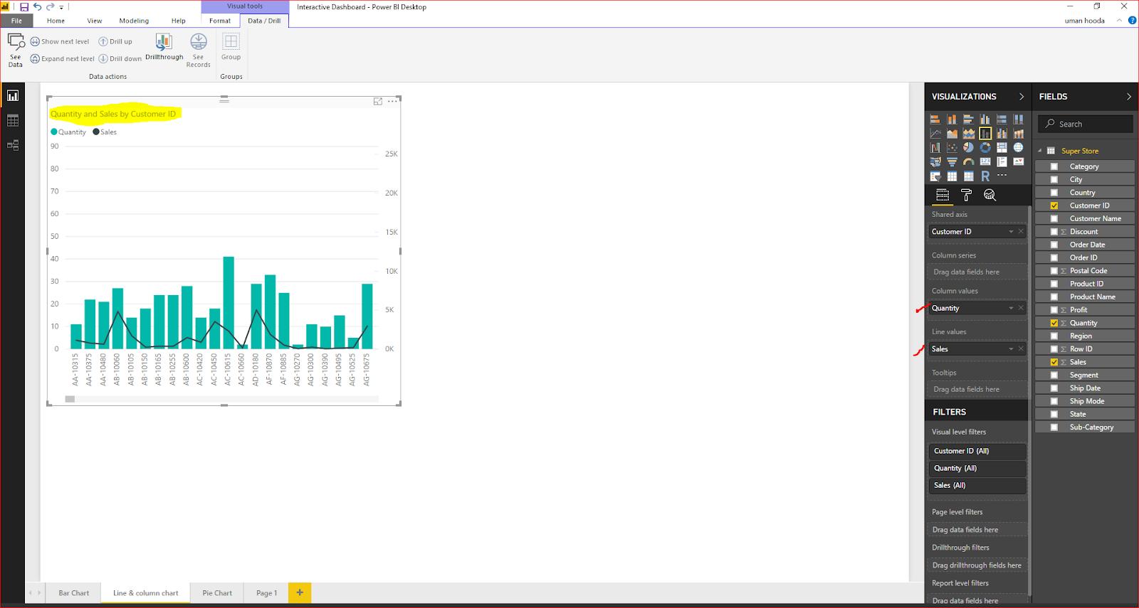 Interactive Dashboard In Microsoft Power BI 36