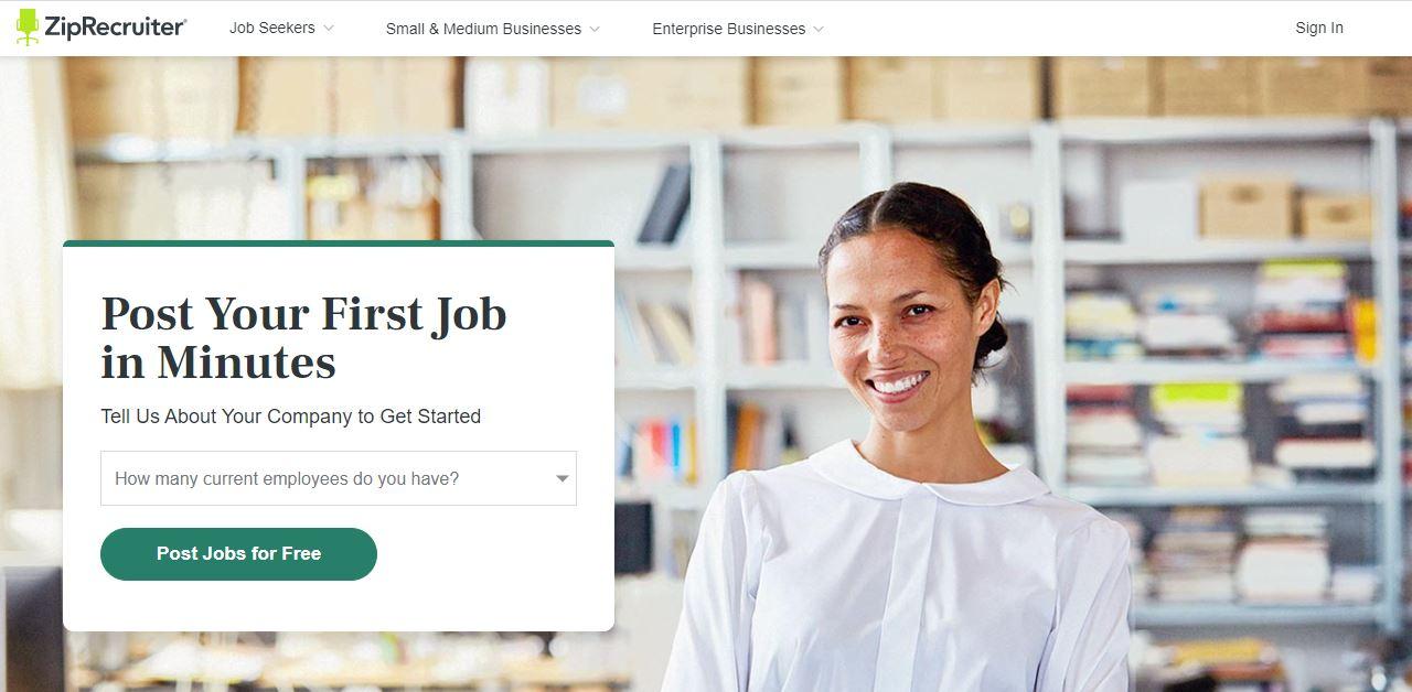 Cloud Based Recruitment Software - ZipRecruiter