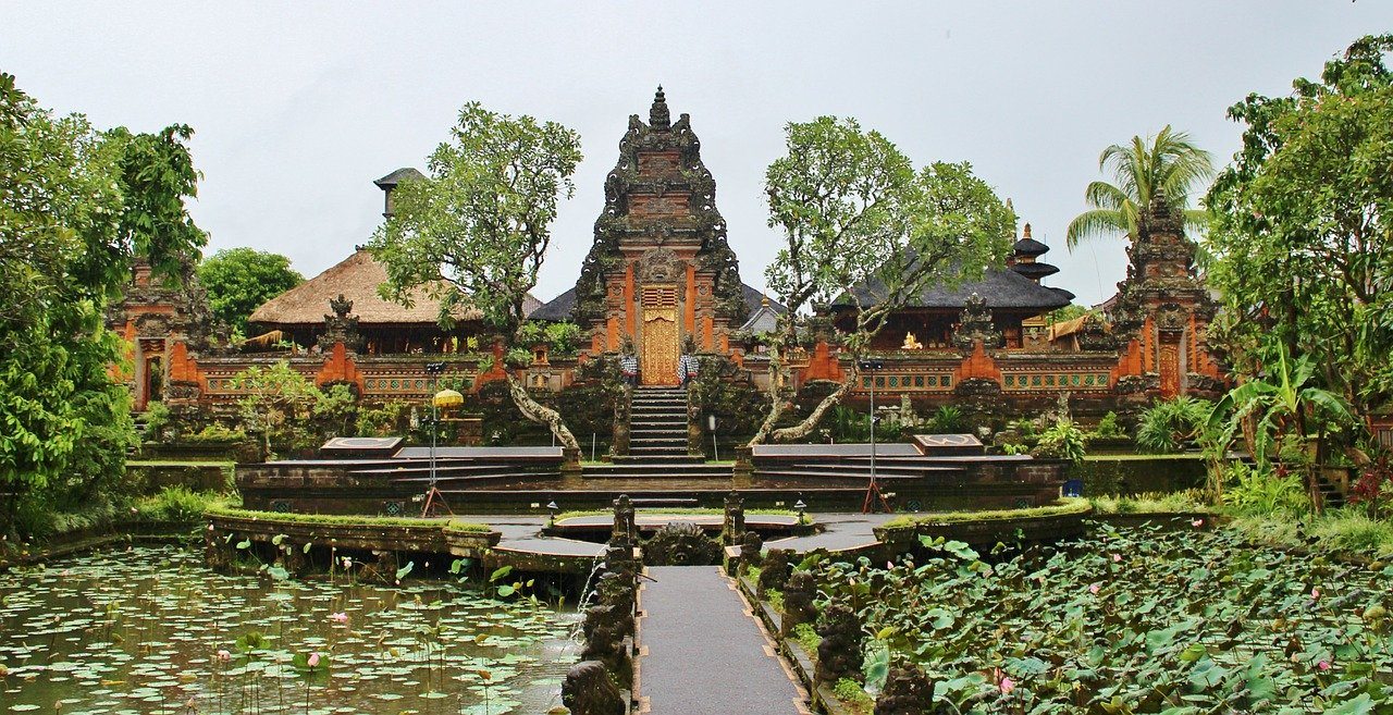 image of Ubud temple