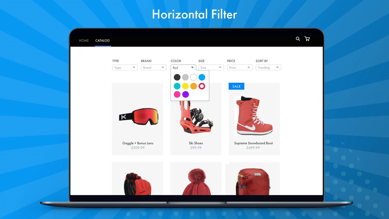 excellent Shopify menu app