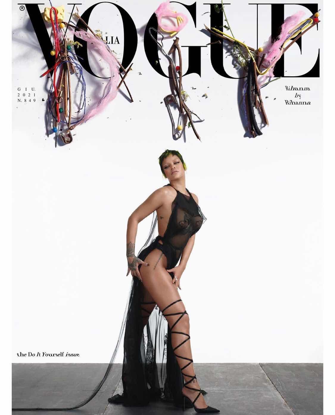 Rihanna for Italian Vogue