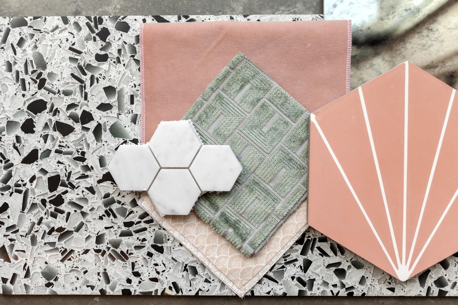 Flat lay created designer Laura Umansky featuring Classic Black