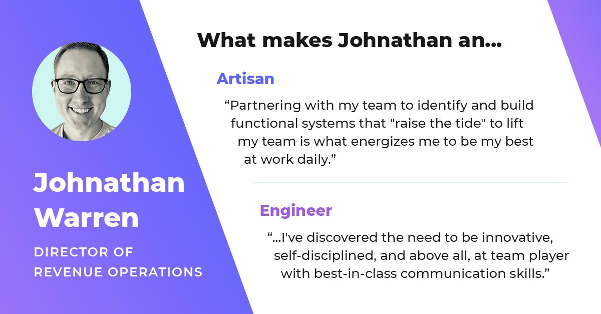 johnathan warren director of revenue operations