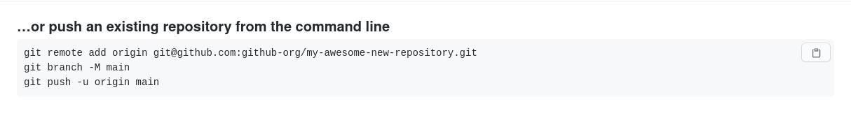 GitHub example