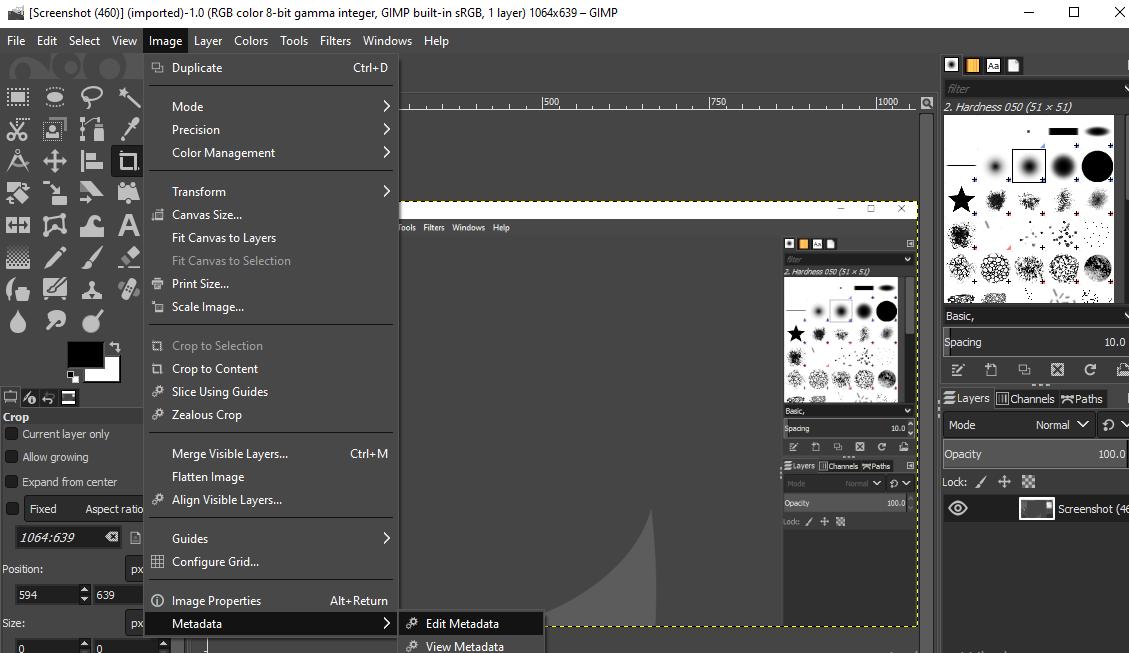 GIMP tool