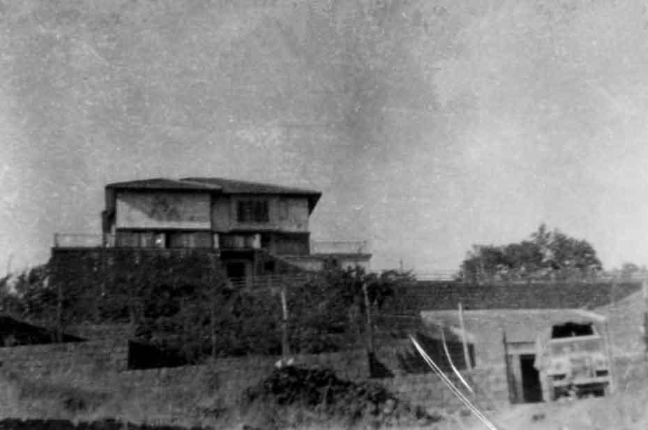 Villa on Mt Etna used as resting place 1943