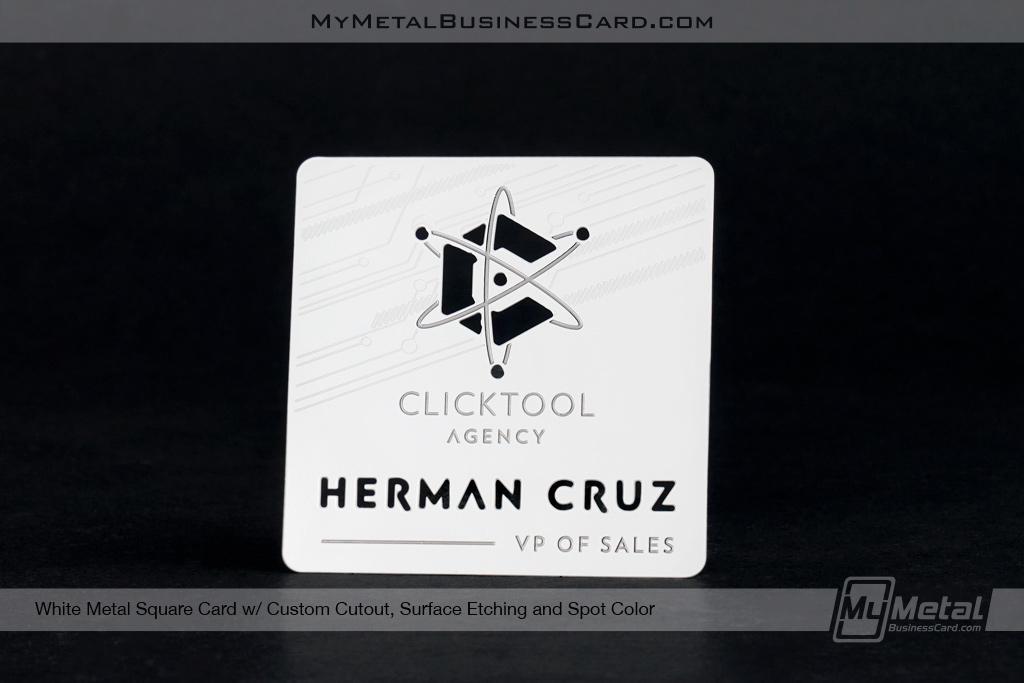 My Metal Business Card |