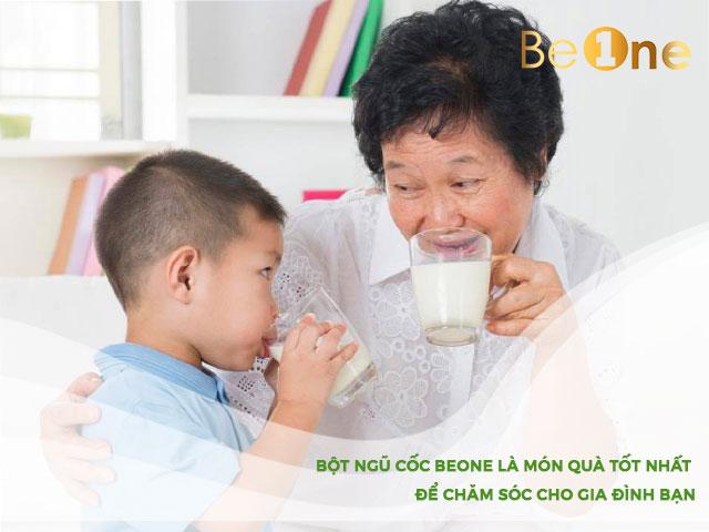 bột ngũ cốc Beone cho bé giải pháp hiệu quả