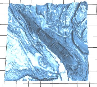 Make A 3D Map - https://touchterrain geol iastate edu/ - News