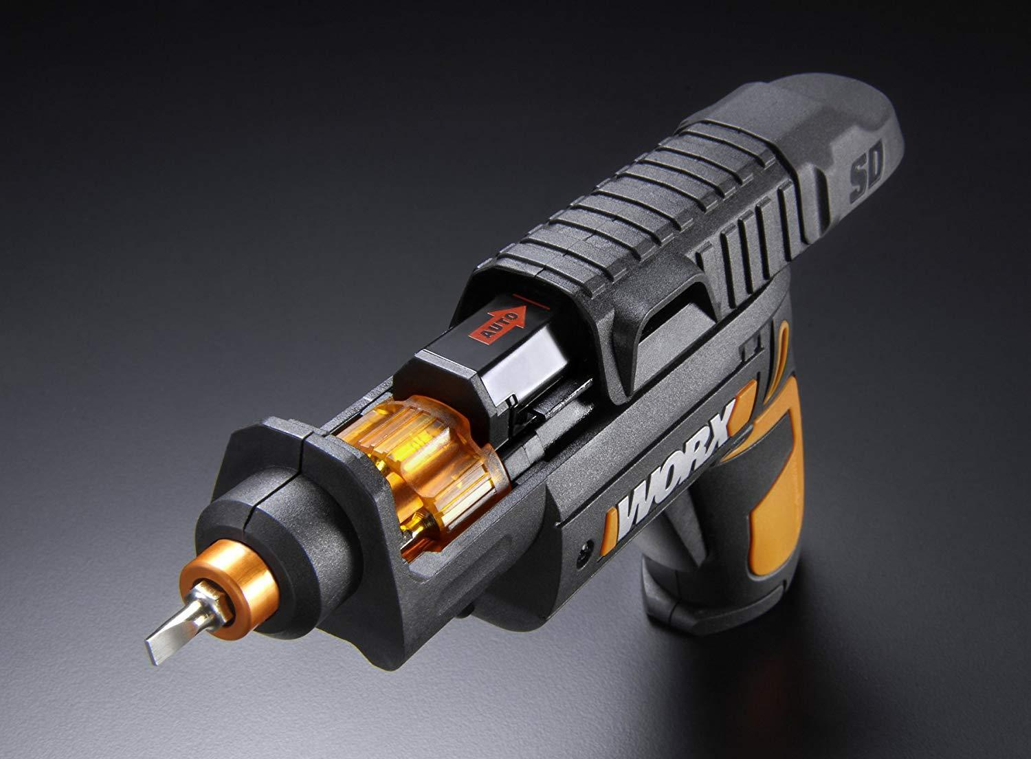 WORX SD Semi-Automatic Power Screwdriver With 12 Driving Bits ...