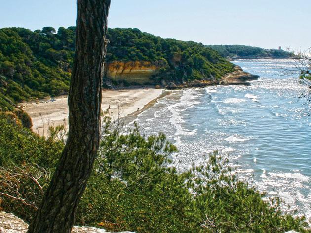 Cala Fonda Las mejores playas de la provincia de Barcelona