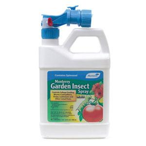 spinosad is an organic solution for lawn and garden pests