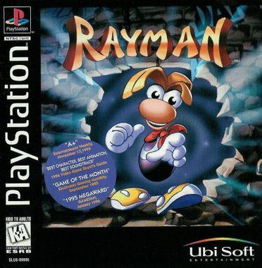 Jaquette du jeu Rayman, sorti sur Playstation