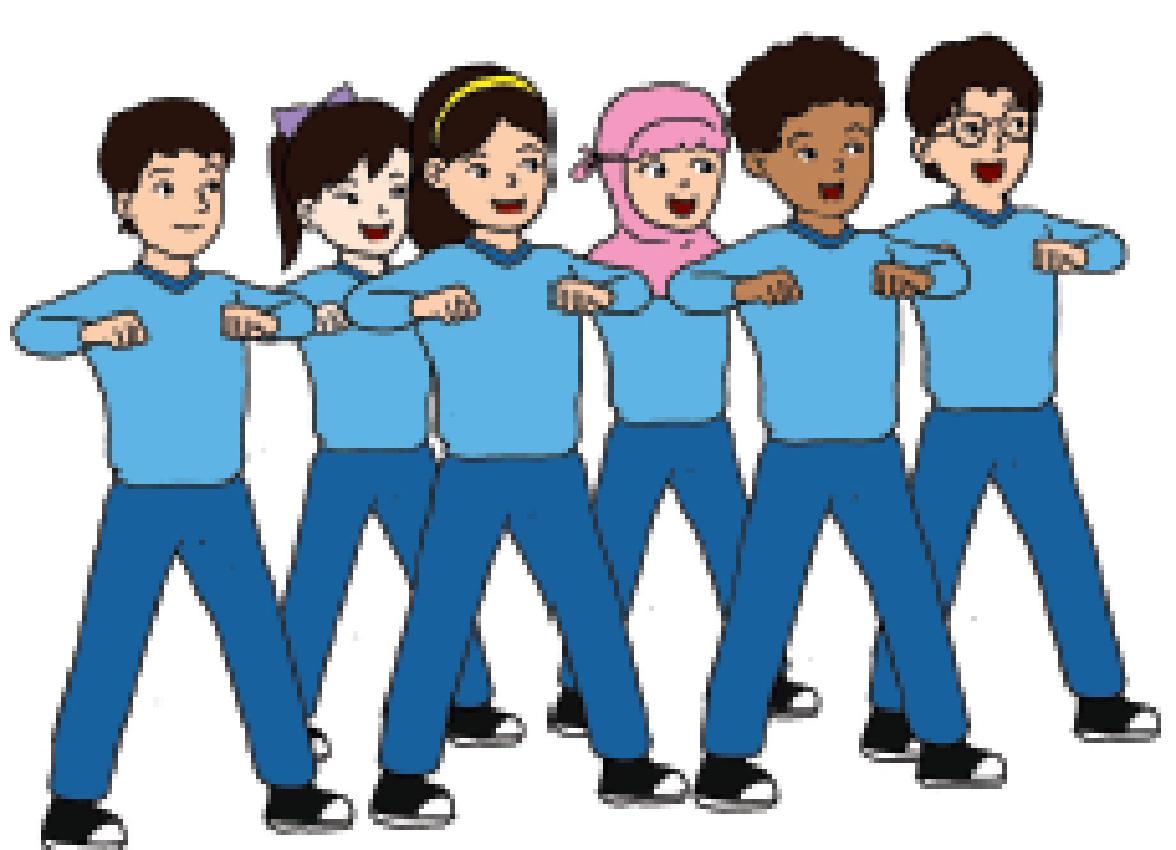 Gambar Kartun Anak Sedang Olahraga | Top Gambar