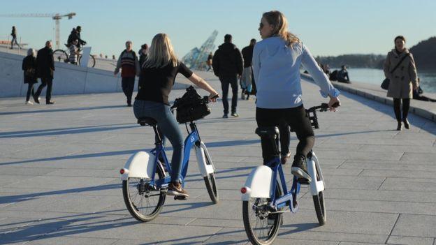 Орендовані велосипеди в Осло