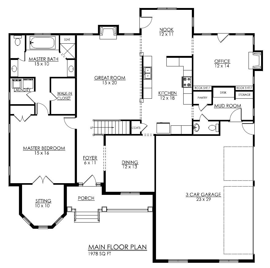 Fine House Plans With Walk In Pantry Australia Largest Home Design Picture Inspirations Pitcheantrous