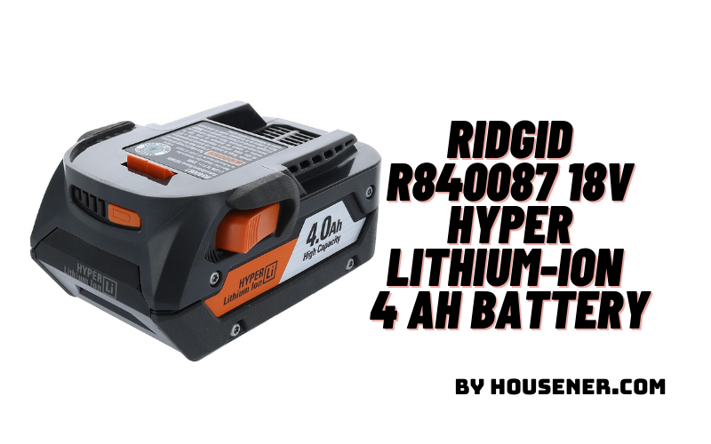 Ridgid R840087 18V Hyper Lithium-Ion battery